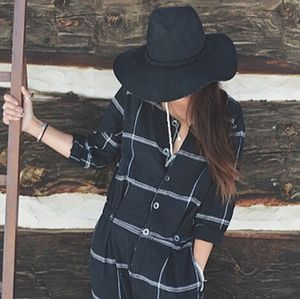 Free People | Keep It In Check Relaxed One-Piece